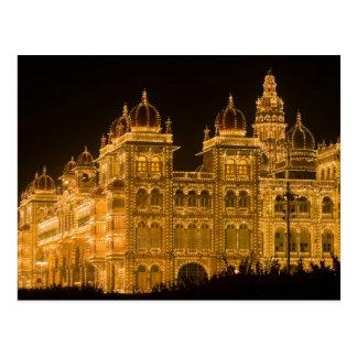 Carte Postale L'INDE, Karnataka, Mysore : Le palais de Majaraja