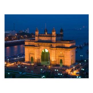 Carte Postale L'INDE, Mumbai (Bombay) : Passage de l'Inde/