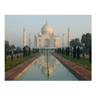 Carte Postale L'INDE, uttar pradesh, Âgrâ : Le Taj Mahal, matin