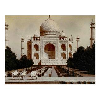 Carte Postale L'Inde vintage, le Taj Mahal