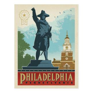 Carte Postale L'indépendance Hall de Philadelphie, Pennsylvanie