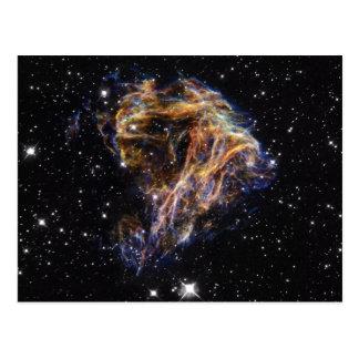 Carte Postale L'indigo a affilé le nuage stellaire de débris