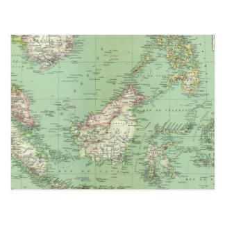 Carte Postale L'Indonésie, Malaisie