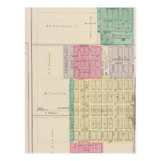 Carte Postale Lindsborg, le Roi City, Roxbury, le Kansas