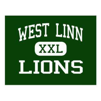 Carte Postale Linn occidental - lions - lycée - Linn occidental