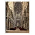 Carte Postale L'intérieur de cathédrale, Cologne, le Rhin,