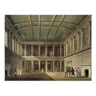 Carte Postale L'intérieur de la pièce de concert, de 'Bath a