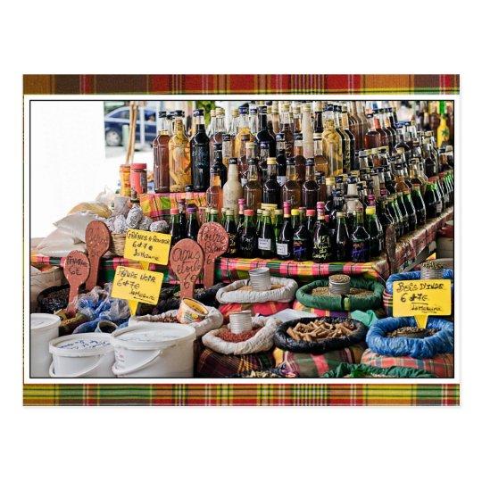 Carte Postale Liqueurs de la Guadeloupe