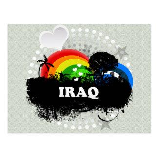 Carte Postale L'Irak fruité mignon