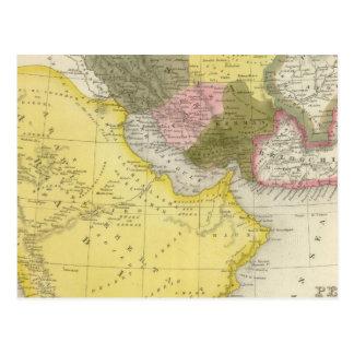 Carte Postale L'Iran et l'Arabie Saoudite