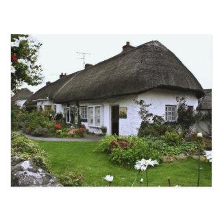Carte Postale L'Irlande, Adare. cottage de Couvrir de