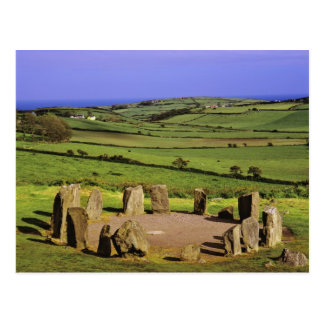 Carte Postale L'Irlande, liège du comté. La pierre de Dromberg