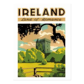Carte Postale L'Irlande vintage -