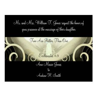 Carte Postale Lis de Cala de faire-part de mariage