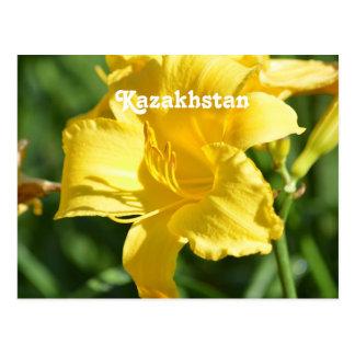 Carte Postale Lis de Kazakhstan
