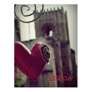 Carte Postale Lisbonne fille…