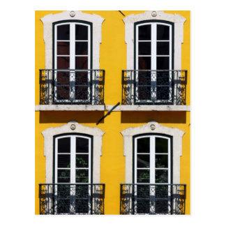 Carte Postale Lisbonne, le Portugal