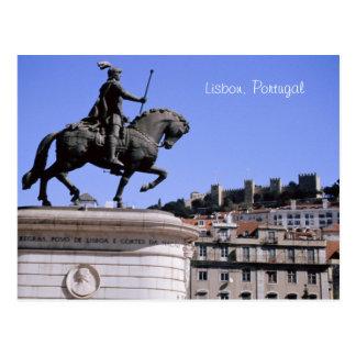Carte Postale Lisbonne, Portugal