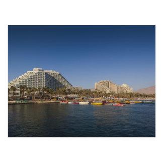 Carte Postale L'Israël, le Negev, Eilat, la Mer Rouge du front