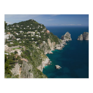 Carte Postale L'ITALIE, Campanie, (baie de Naples), CAPRI :