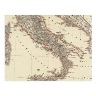 Carte Postale L'Italie, citerior de Gallia, Illyricum, Sicilia