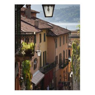 Carte Postale L'Italie, province de Como, Bellagio. Salita