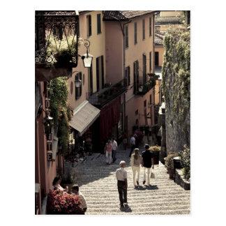 Carte Postale L'Italie, province de Como, Bellagio. Salita 2