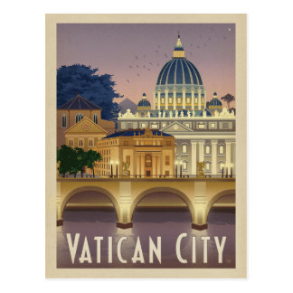 Carte Postale L'Italie, Rome - Ville du Vatican
