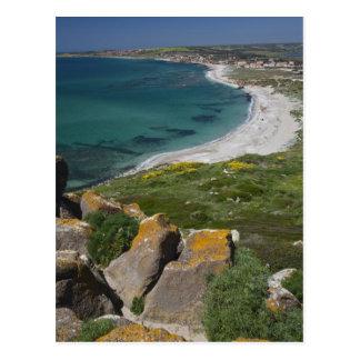 Carte Postale L'Italie, Sardaigne, Tharros. Vue de l'Espagnol