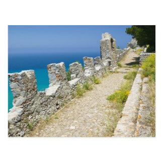 Carte Postale L'Italie, Sicile, Cefalu, passage couvert de