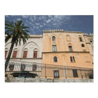 Carte Postale L'Italie, Sicile, Palerme, dei Normanni de Palazzo