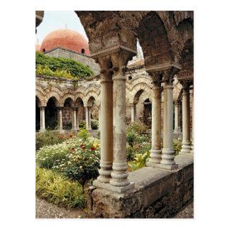 Carte Postale L'Italie, Sicile, Palerme. Les cloîtres survivent