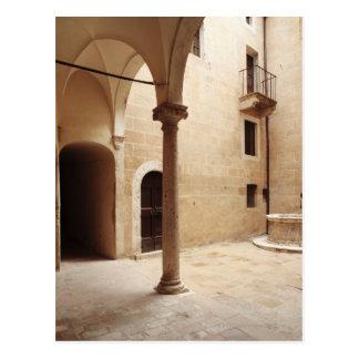 Carte Postale L'Italie, Toscane, Pienza