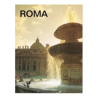 Carte Postale L'Italie vintage, Rome, Vatican, St Peter