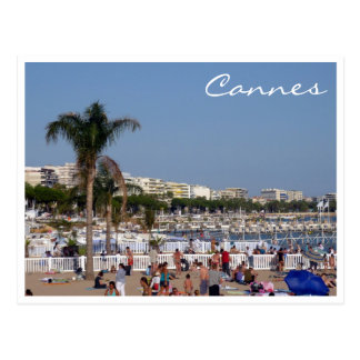 Carte Postale littoral de Cannes