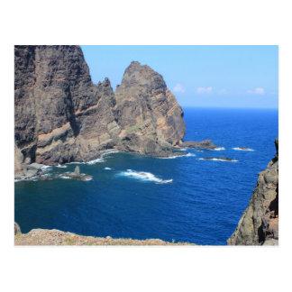 Carte postale - littoral de la Madère