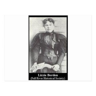 Carte Postale lizzie Borden