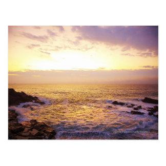 Carte Postale L'Océan Atlantique au lever de soleil, vue de