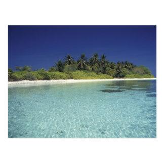 Carte Postale L'Océan Indien, îles Maldives. (M.)