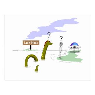 Carte Postale Loch Ness