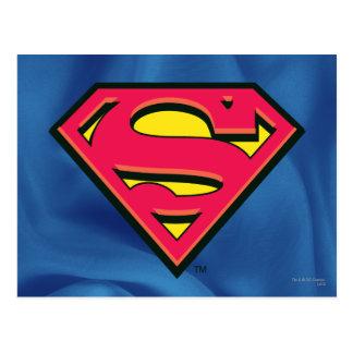Carte Postale Logo classique du S-Bouclier | de Superman