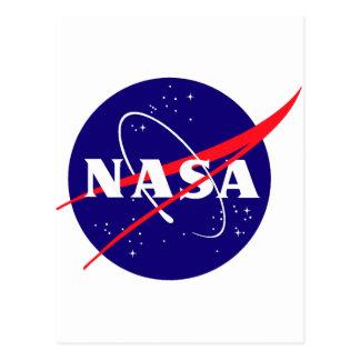 Carte Postale Logo de boulette de viande de la NASA
