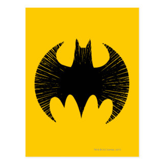 Carte Postale Logo de filet du symbole | de Batman