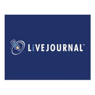 Carte Postale Logo de LiveJournal horizontal