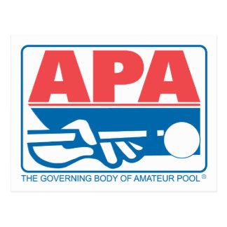Carte Postale Logo d'original d'APA