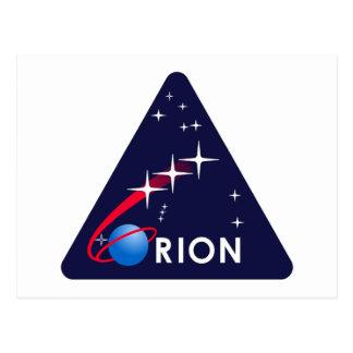 Carte Postale Logo d'Orion de projet de la NASA