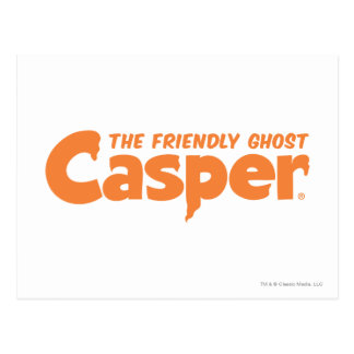 Carte Postale Logo orange 1 de Casper