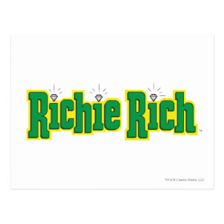 Carte Postale Logo riche de Richie - couleur