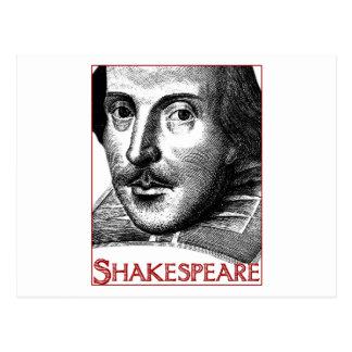 Carte Postale Logo simple de Shakespeare