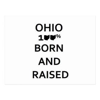 Carte Postale L'Ohio 100% soutenu et augmenté